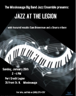 Jazz At The Legion - January 26